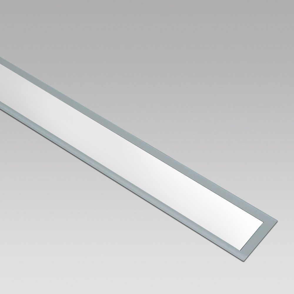 Wall or inground recessed luminaire for outdoor lighting, suitable for single or in-line installations