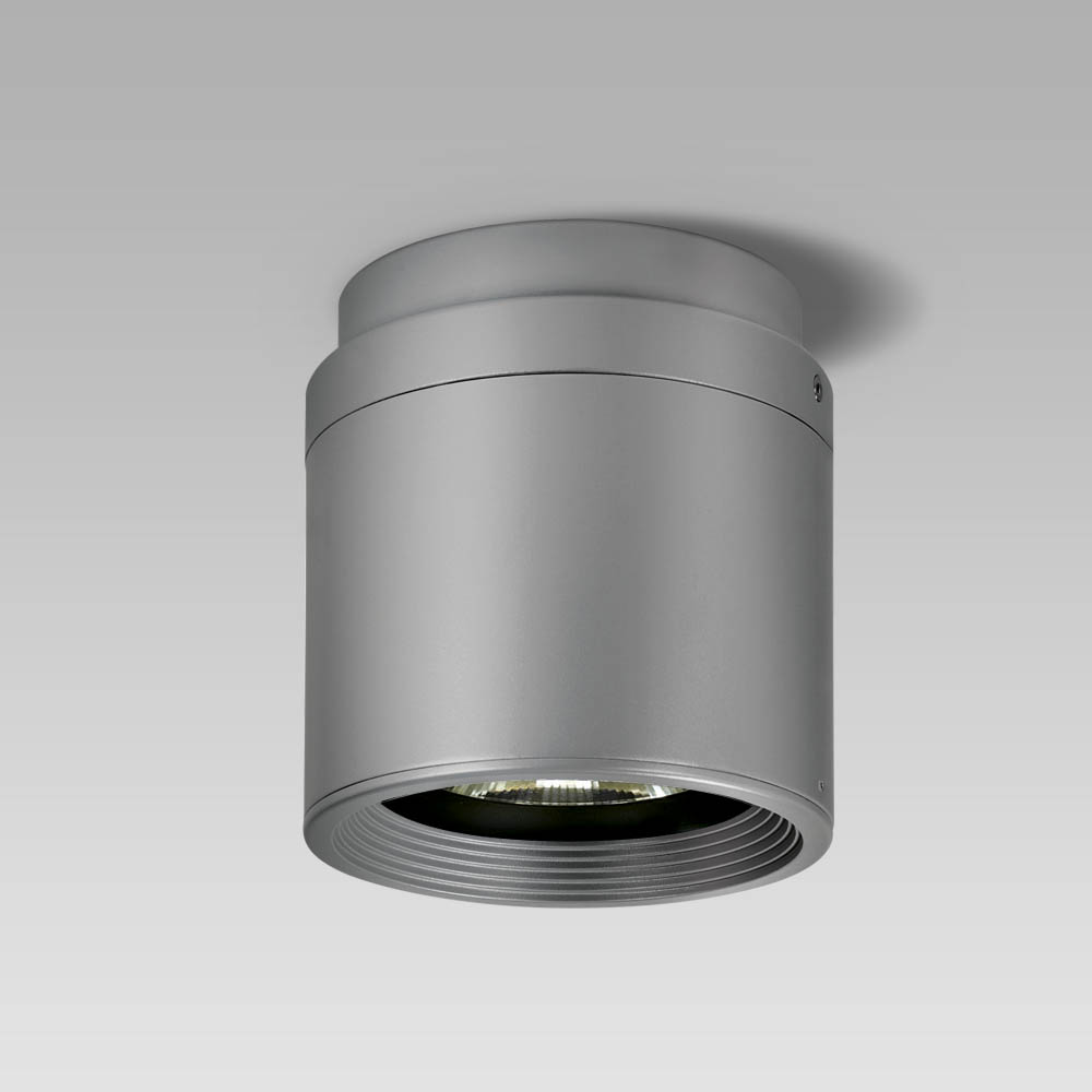 High-bay luminaires Ceiling or suspended high-bay luminaire with an elegant cylindrical shape for the illumination of wide areas