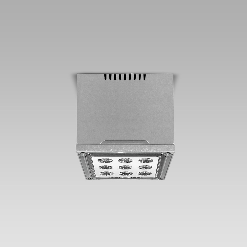 High-bay luminaires High-bay ceiling luminaire MOTO3 for indoor and outdoor lighting of large areas