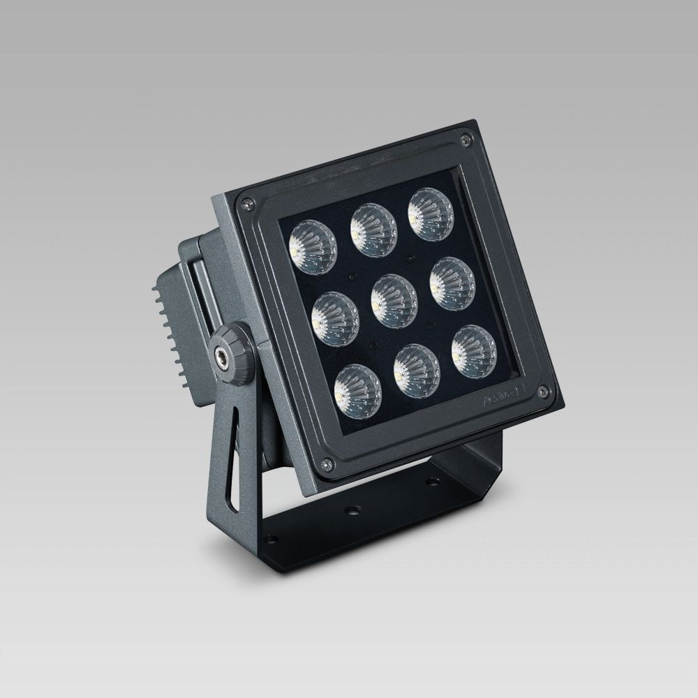 High-bay luminaires Floodlight for outdoor and indoor lighting of large areas, featuring excellent lighting performance
