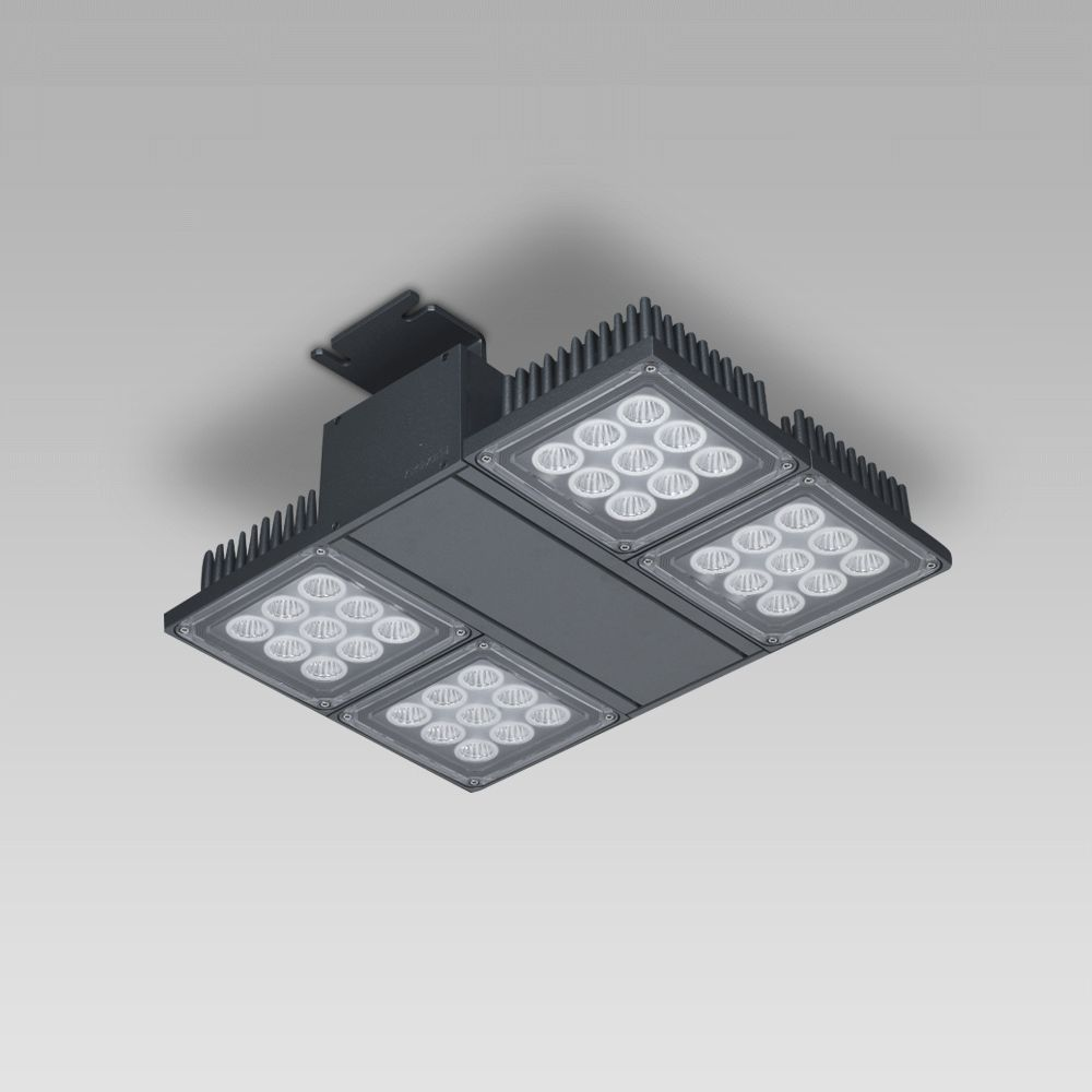 Ceiling luminaires Foodlight for the illuminattion of large areas, featuring high lighting performance-NADIR