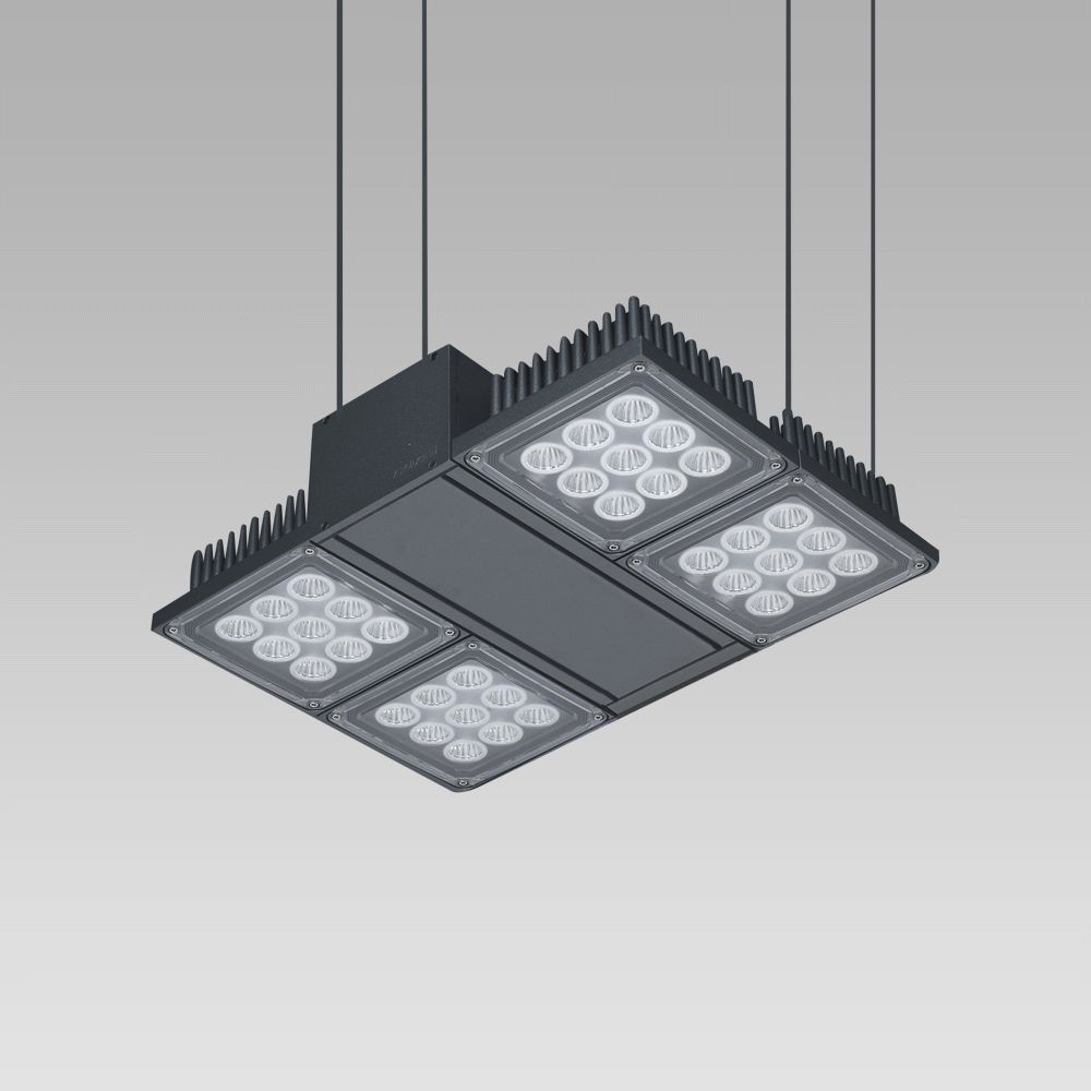 High-bay luminaires Foodlight for the illuminattion of large areas, featuring high lighting performance-NADIR