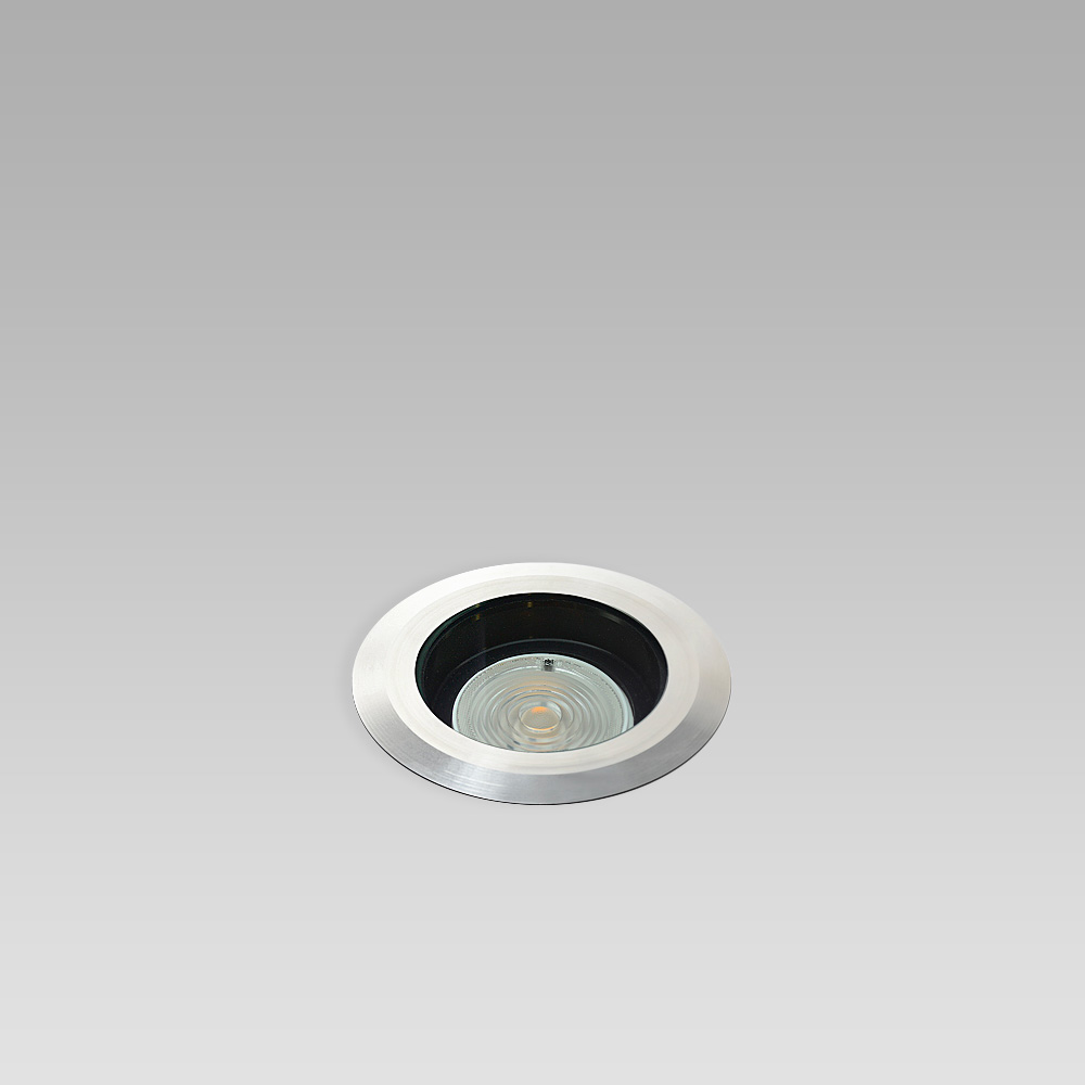 In-ground luminaire for outdoor lighting with an elegant design, perfect for creating suggestive lightpaths