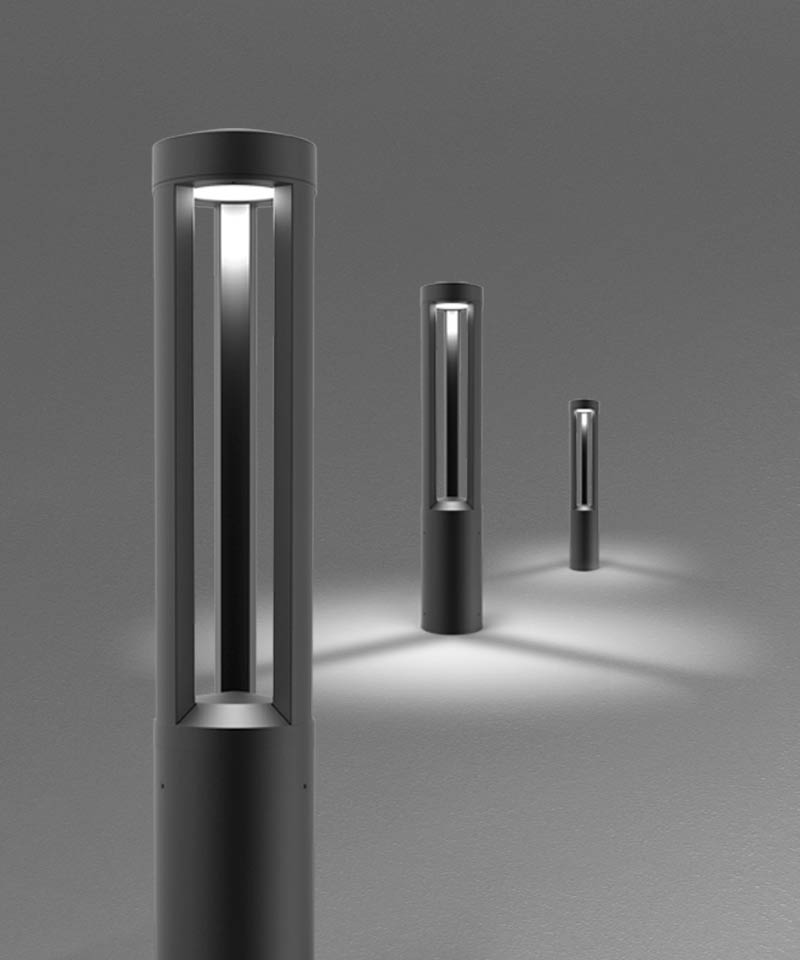 Arcluce Soul180, bollard and urban lights